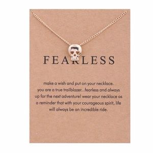 Jewelry - 4 for $25 ⚡️skull necklace